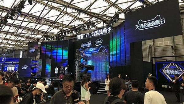 游戏行业迎来技术创新,芯片企业活跃在ChinaJoy
