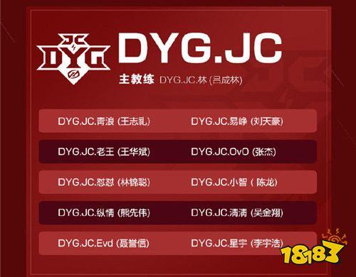 2019kpl秋季赛JC大名单都有谁 JC战队大名单一览