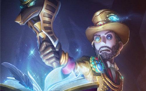 迈向自己不死的凯旋 魔术师新皮肤寻宝贵族曝光