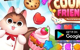 益智手游 《New Sweet Cookie Friends》已上架