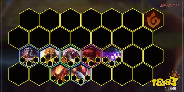 《云顶之弈》S2四影三召唤三炼狱阵容蚂蚱站位分析