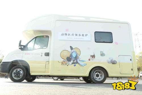 医疗领养公益救助车开启治愈之旅 守护小动物