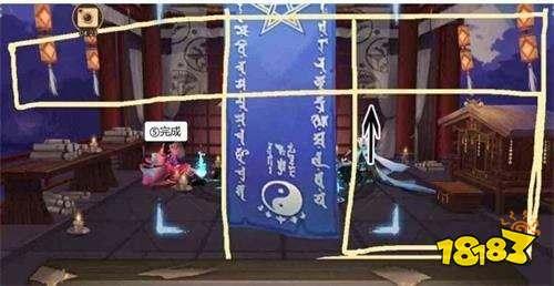 12月神秘图案怎么画 阴阳师12月神秘图案画法