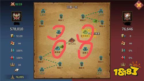 王国纪元龙火战场如何极限刷分?推荐先占领这些点!