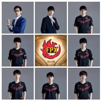 2020FPX战队成员介绍 2020春季赛FPX战队成员个人资料