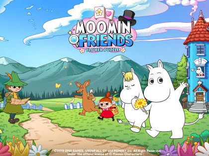休闲益智手游《Moomin Friends》双平台同步上架