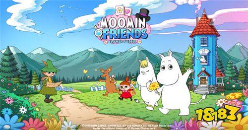 休闲益智手游《Moomin Friends》双平台同步上架