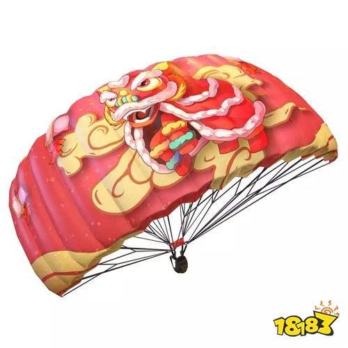 和平精英辅助醒狮欢腾降落伞多少钱能出 降落伞必出技巧
