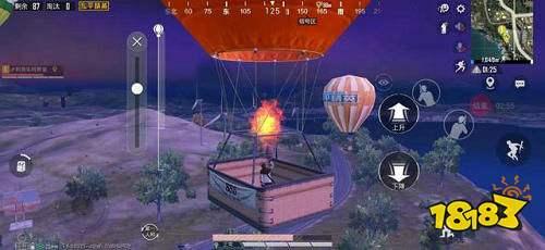 和平精英辅助热气球在什么位置 热气球怎么找
