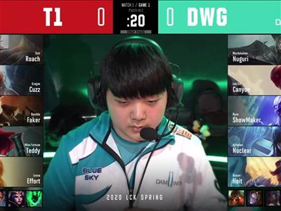 虎牙LCK:大魔王寶刀未老連莊MVP T1讓一追二擊敗DWG打響開門紅