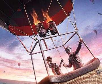 《和平精英》热气球玩法限时上线