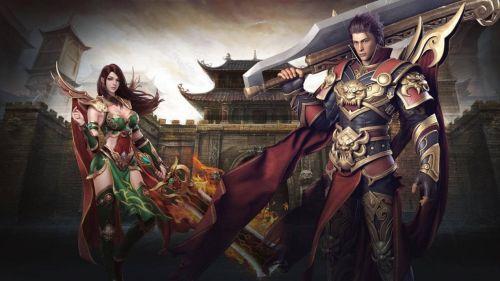 玩家可以通过点击空白处的方式控制自己的角色