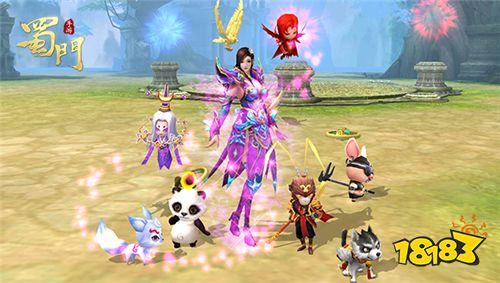 《蜀门手游》开启PK新时代 全新战斗玩法上线