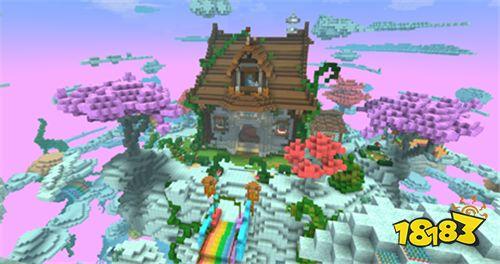 聚会首选 幻想沙盒游戏《手工星球》唯美浪漫云界!