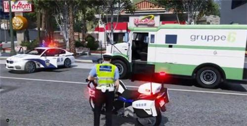 gta5警察模拟器