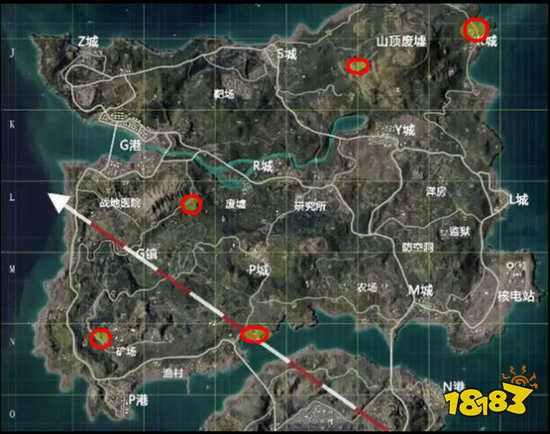 和平精英海岛2.0最全地下室位置地图一览 海岛2.0地下室在哪