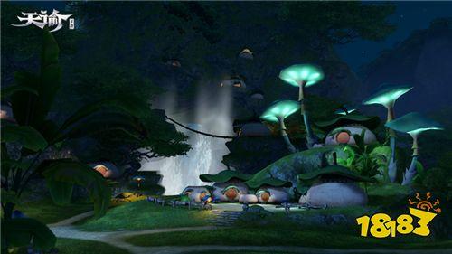 不平凡的小蘑菇 !旗舰级手游《天谕》探秘仙菇族