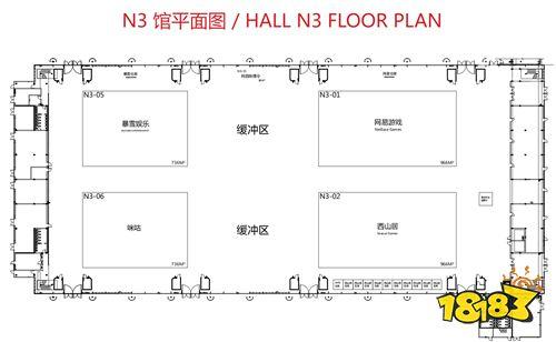 2020ChinaJoy各展馆展位图正式公布!