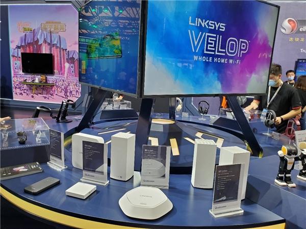 领势Linksys亮相ChinaJoy2020高通骁龙主题馆展现卓越网络体验