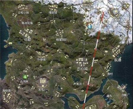 山谷地图在哪跳伞最好 山谷高资源位置推荐