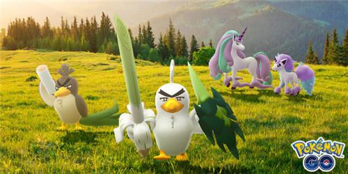 《Pokémon GO》葱游兵&小火马游戏内正式现身