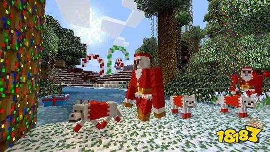 我的世界圣誕版手游下載