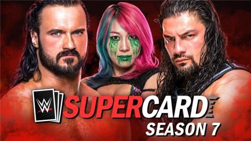 卡牌收集格斗游戏《WWE SuperCard》第7季即将登场