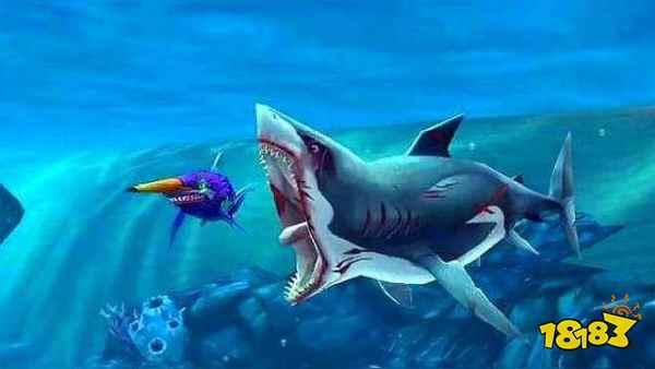饥饿鲨:世界单机汉化版下载
