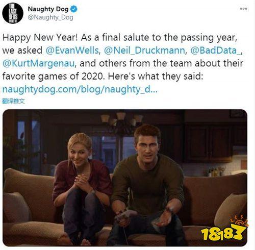 顽皮狗开发者介绍2020最喜欢游戏 尼尔称最爱《糖豆人》