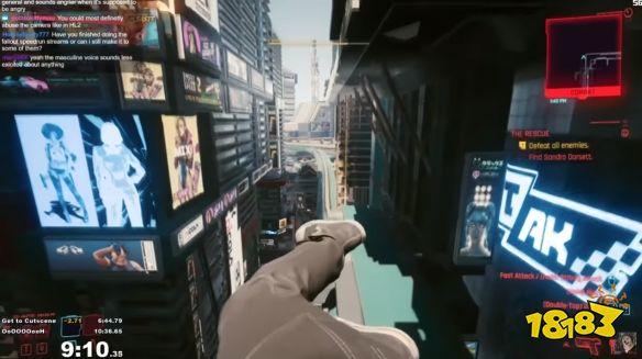 《赛博朋克2077》滚床单最快的男人 我愿称之为最强