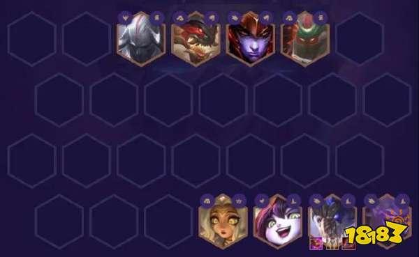 云顶之弈S4.5山海龙法阵容玩法攻略 龙王季中的神!