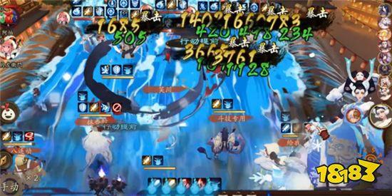 阴阳师SP荒川在斗技里直接上天 人人都爱冲浪全自动