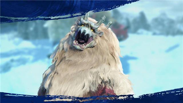 《怪物猎人崛起》怪物志——雪鬼兽,