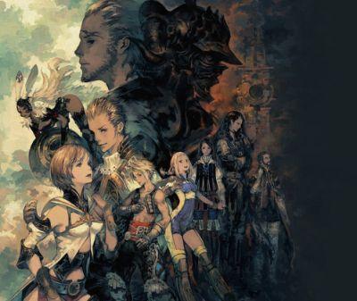 《最终幻想12》官推公开贺图 庆祝游戏发售15周年