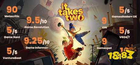 《双人成行》Steam在线人数突破3.7万 获得好评如潮