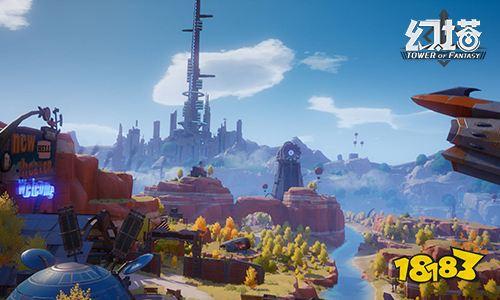 《幻塔》亮相完美世界游戏战略发布会 打造原创轻科幻IP