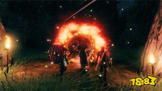 英灵神殿房子里生火