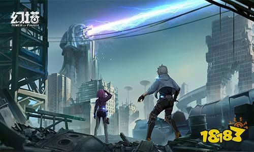 完美世界二次元开放世界手游《幻塔》预告 4月15日开启限量测试