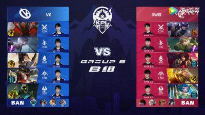 2021KPL春季赛第四周 VG vs RW侠 第1局