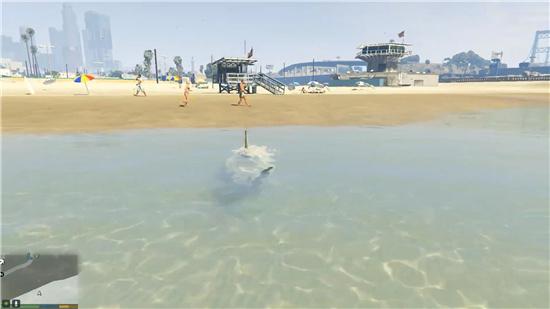 gta5怎么游泳