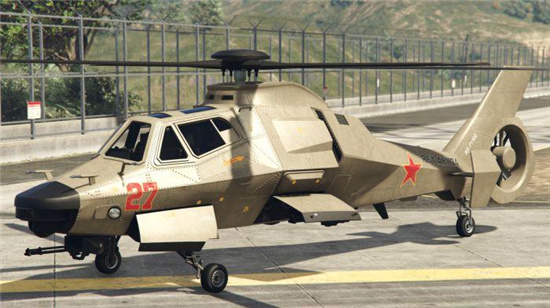 gta5武装直升机怎么开