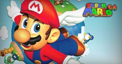 魔玩新境界 高玩刷新《超级马里奥64》全敲鼓世界纪录