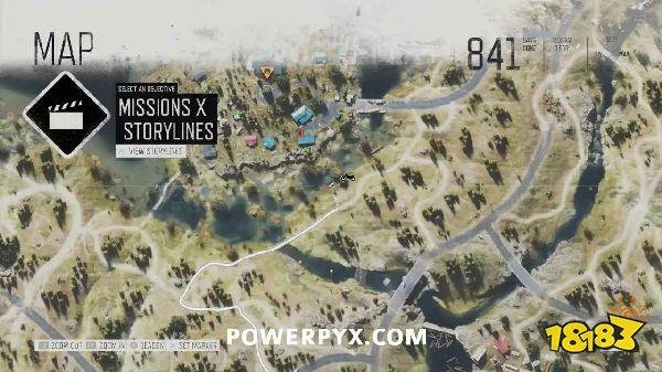 往日不再云莓药草收集点与地图