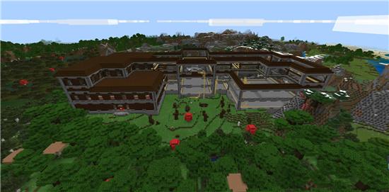 我的世界林地府邸宝藏位置在哪里 林地府邸宝藏具体位置分享