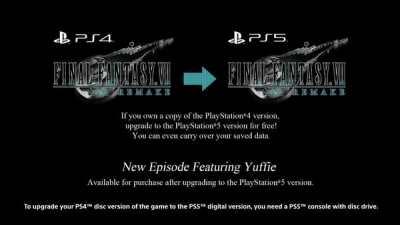 PS4《FF7重制版》更新 支持存档、成就同步至PS5版