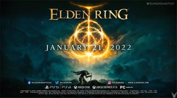 《Elden Ring》全新预告 明年1月21日发售!