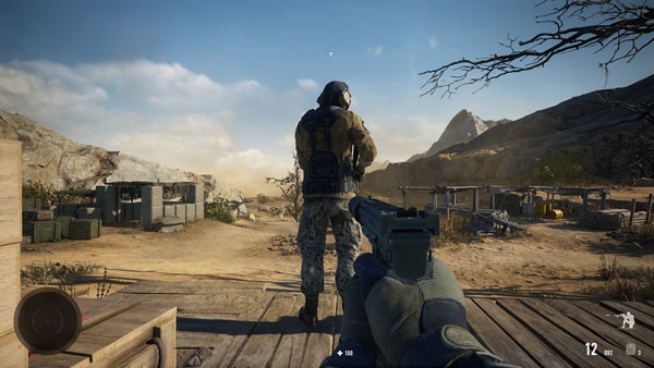 狙击手幽灵战士契约2马拉德旱谷挑战任务攻略