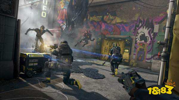 《彩虹六号:异种》首批截图发布 干员激战外星生命体
