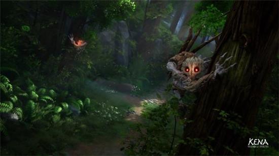 柯娜精神之桥新截图女主与神秘敌人对峙