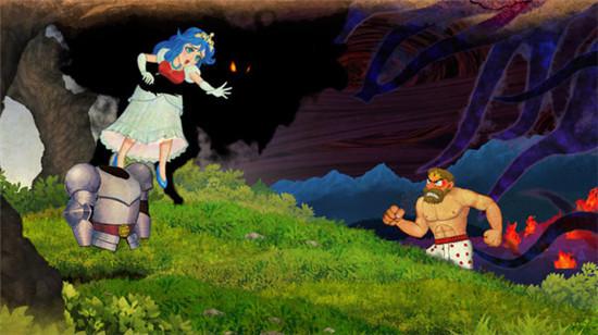 经典回归魔界村相比于前几代作品,本作画面无疑有了极大的进步